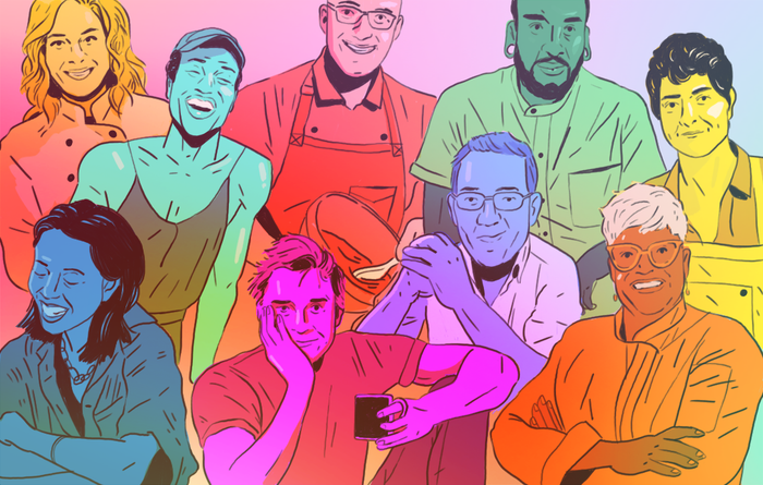 In recent years, representation in the culinary landscape has finally started to highlight the diversity of the industry — and although we still have a long way to go, these individuals are working hard to make sure there's a spot at the table for everyone.