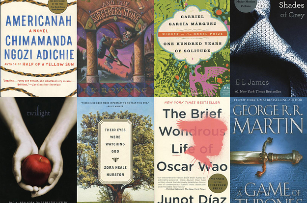 Have You Read At Least Half Of The Top 100 Books In America?