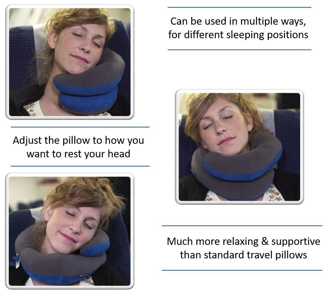 This Neck Pillow Looks Weird Af But Will Save You On Your