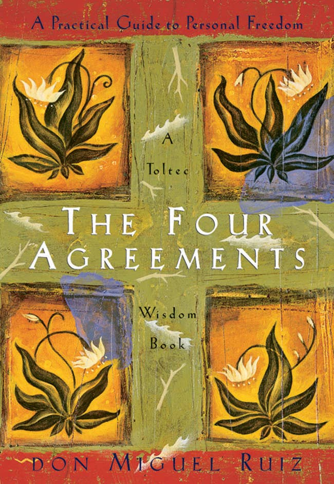 The Four Agreements employs a life-changing approach to navigating the world inspired by ancient Toltec wisdom.See a promising review here. Price: $4.62+