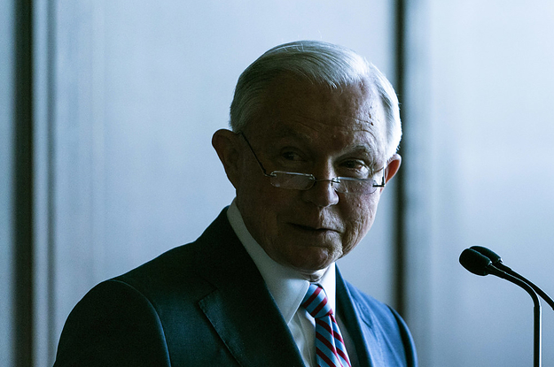 Jeff Sessions Says The Administration Never Intended To Separate Families At The Border. That's Not True.