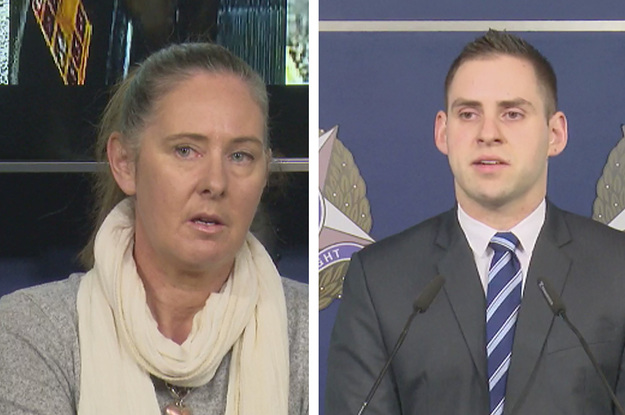 The Police Force Accused Of Victim Blaming Women Just Allowed A Victim To Speak At Their Press Conference