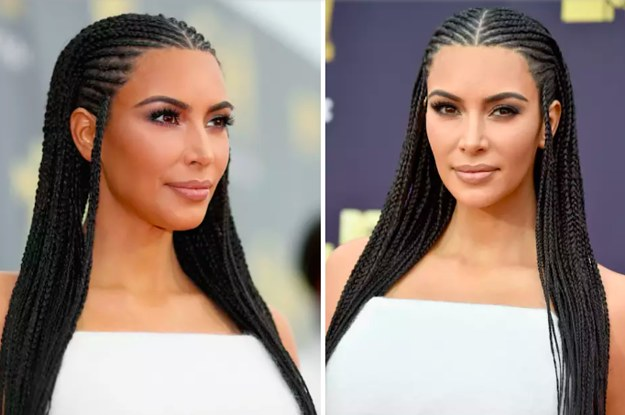 Kim Kardashian Revealed The Personal Reason She Wore Her Hair In Braids Again
