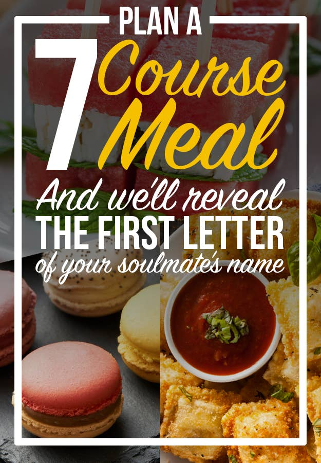 Plan a romantic full course dinner and well reveal your soulmates share on facebook share forumfinder Image collections