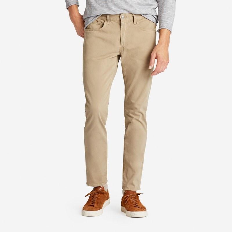 Donna: Abbigliamento Tommy Hilfiger Womens Women's Pants Trousers Chino Khakis ~ Eu 38 Pantaloni