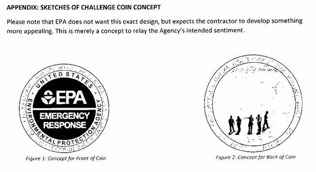 A concept sketch of the coin.
