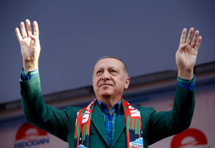Sunday's election was 18 months earlier than it would have been before Erdogan moved it up. Why'd he bump it up? Well, last year he got voters to give the presidency a lot more power. Those powers couldn't kick in until the president's next term, so Erdogan decided there's no time like the present. His AKP party has won in 12 elections in the last 16 years, so he probably had no reason to think they couldn't keep it going.