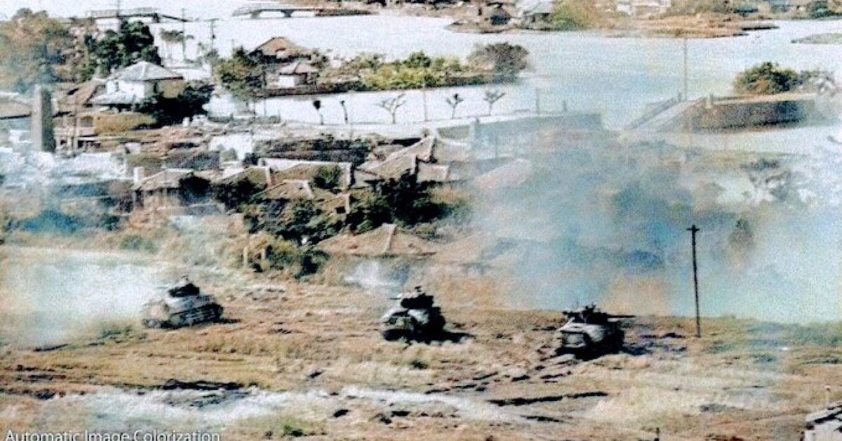 あの時、島は戦火にのまれた。米兵が見た「沖縄戦」カラーで振り返る