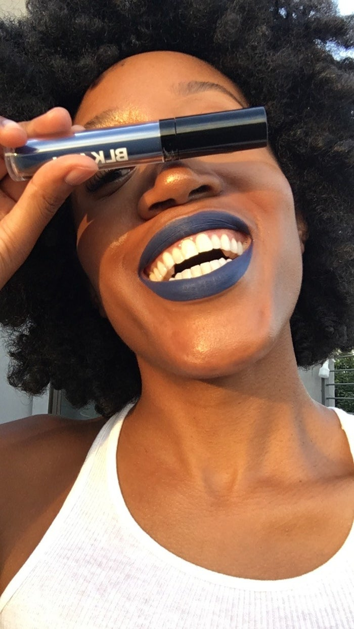 Check out Indigo, for example, a blue shade that I was sure would make me look ashy, but actually served more punk glam.