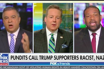 A Former Trump Campaign Aide Told A Black Guest On Fox News He Was