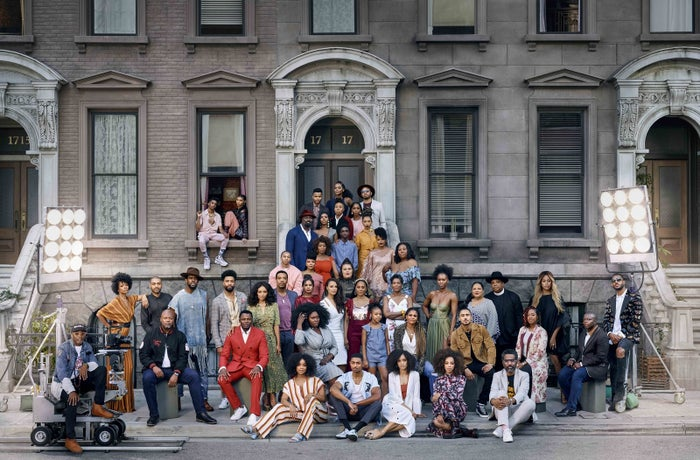 The photo, captured by Kwaku Alston, includes stars from Netflix Originals Dear White People, Luke Cage, Orange Is the New Black, Glow, and more.