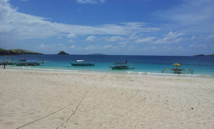 Head on over to Calaguas in Camarines Norte if you miss Boracay's fine white sand beaches.