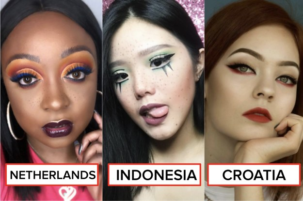 Gorgeous Makeup Trends From All Around