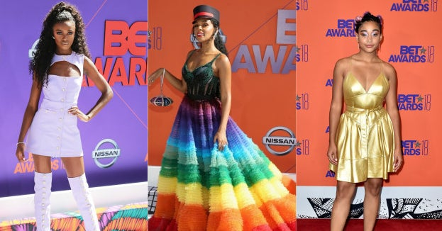 Here's What Everyone Wore To This Year's BET...