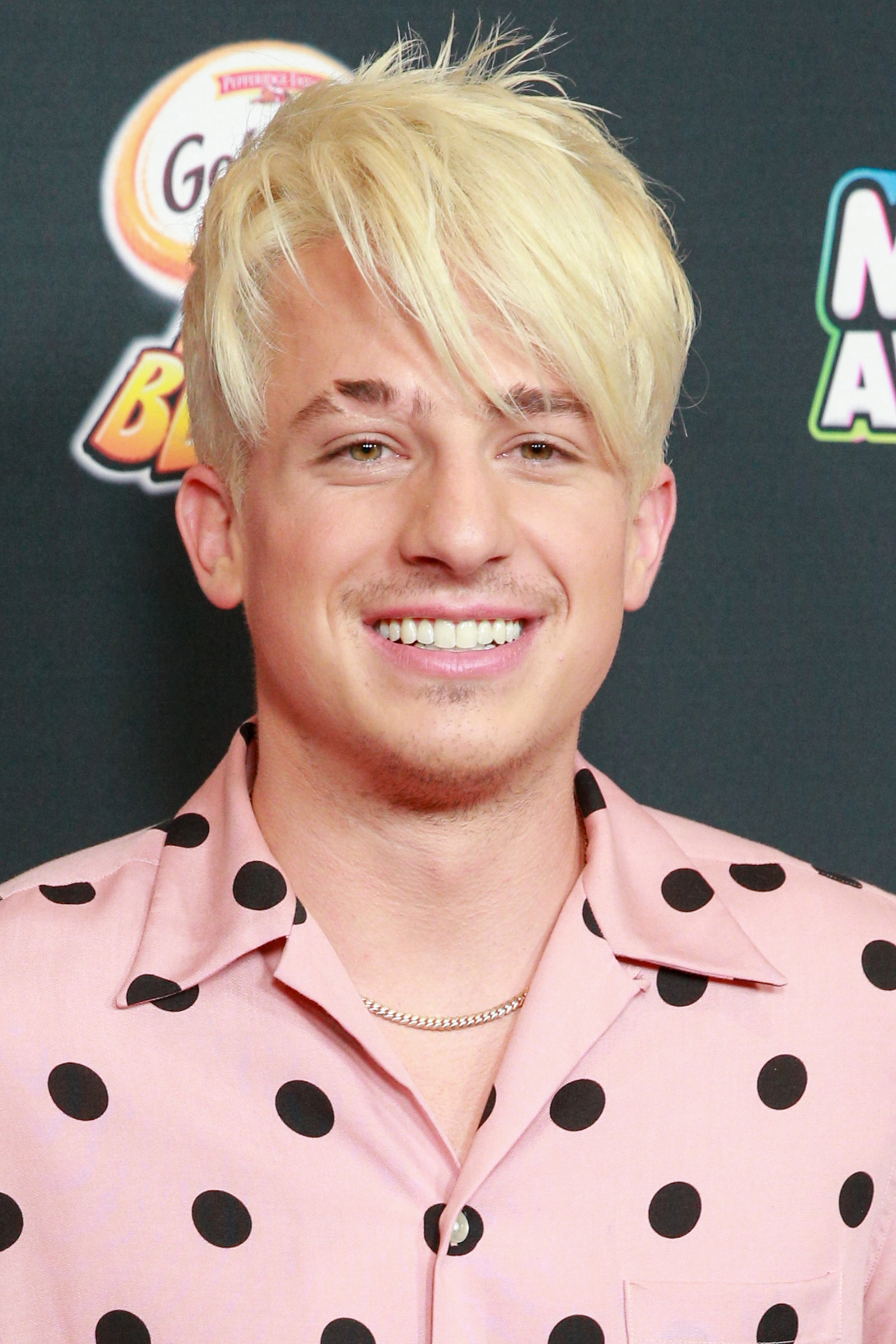 And here is his blonde transformation.