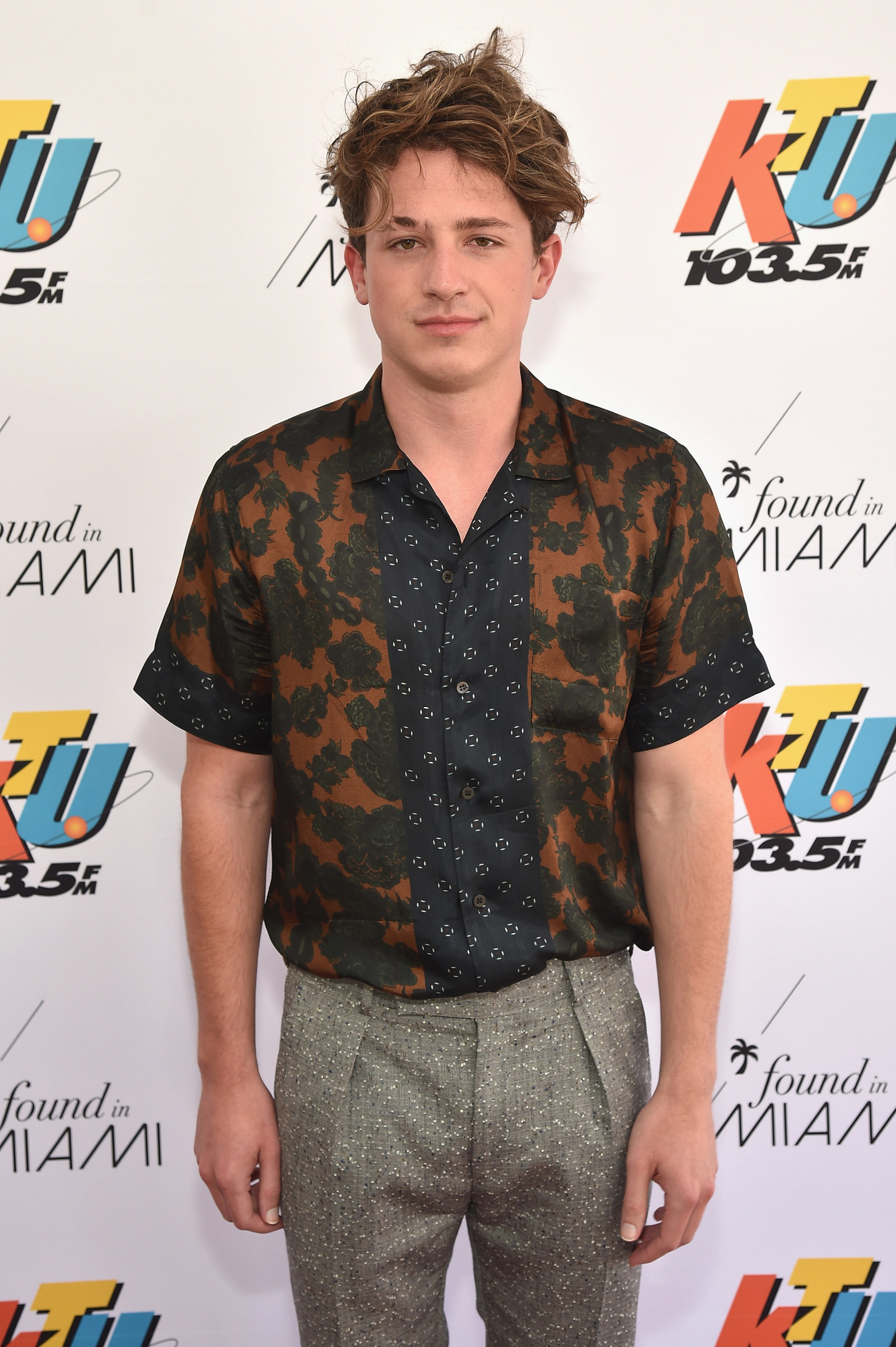 This is what Charlie Puth looks like not blonde.
