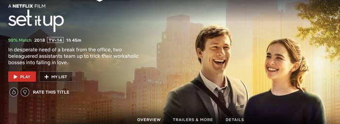 """""""In desperate need of a break from the office, two beleaguered assistants team up to trick their workaholic bosses into falling in love."""""""