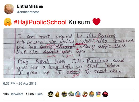 Regret Essay Quoti Am Not Inspired By Jk Rowling Only Because She Writes Well But Essay Papers For Sale also Essay On Onam Jk Rowling Replied To A Kashmiri Girls Touching Essay About Her  Descriptive Essay About Food