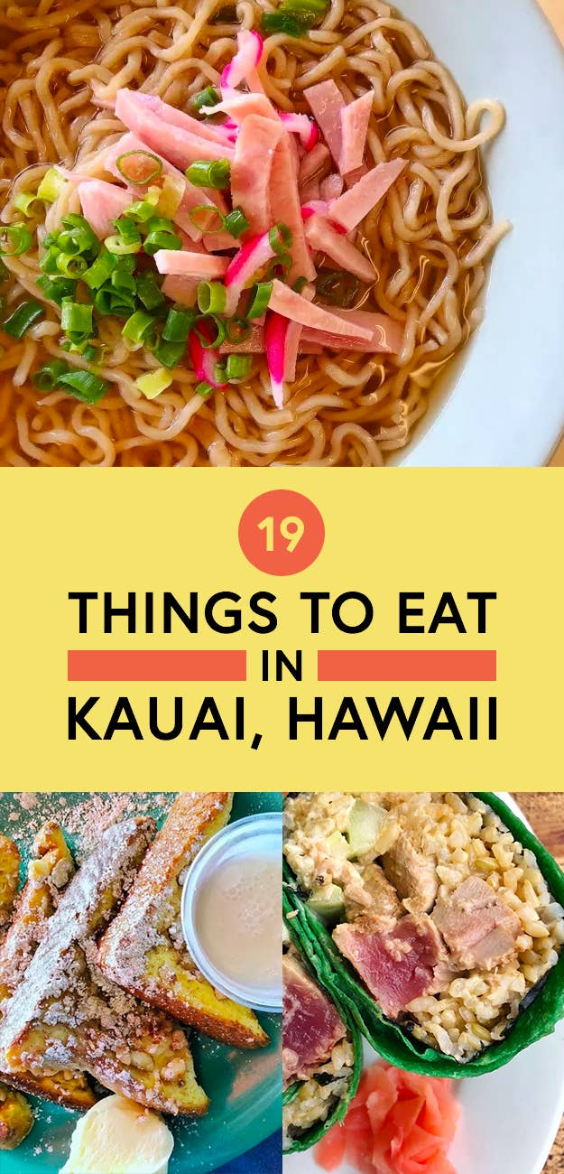 19 Things You Must Eat In Kauai Hawaii