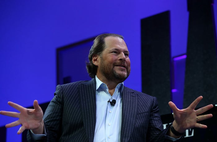 Salesforce chair and CEO Marc Benioff.