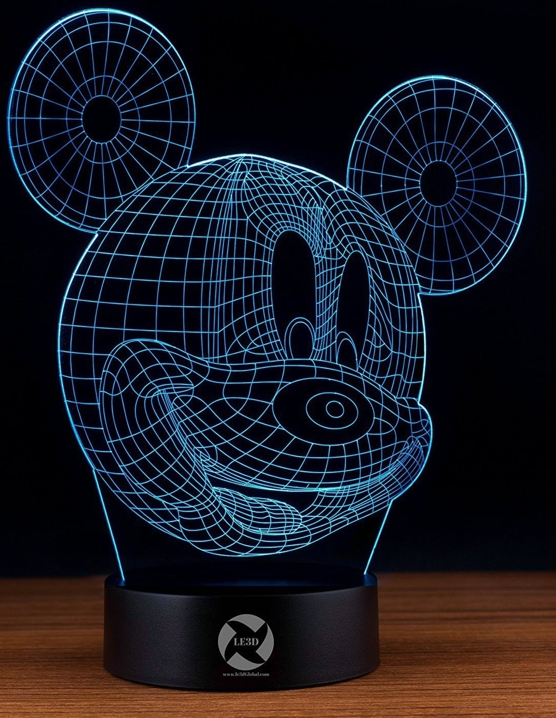 Peel and Stick Vinyl Decal Sticker Skin for Your Phone Grip Wishes Mickey Head Fireworks
