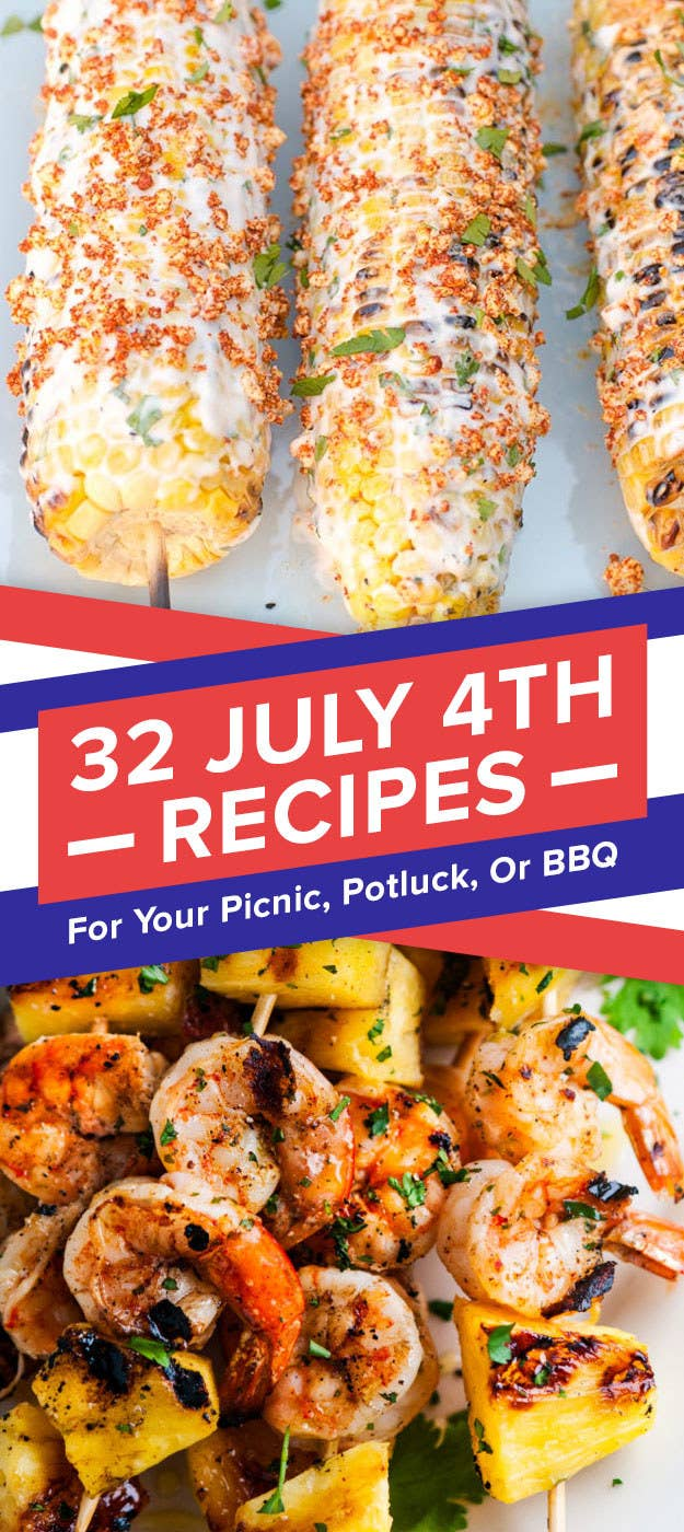 32 Recipes For Your Fourth Of July Picnic Potluck Or Bbq