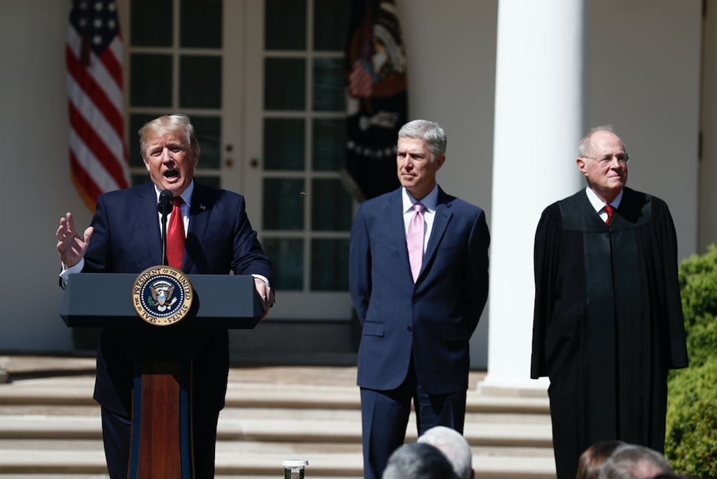 Trump Said He'll Choose One Of These People To Replace Anthony Kennedy On The Supreme Court