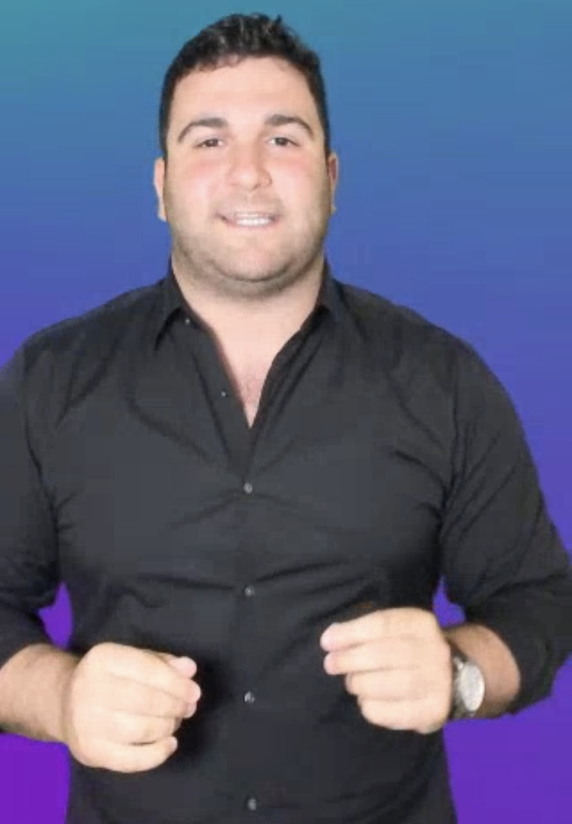 Majority Rules quiz host and cofounder Jonathan Nassimi.
