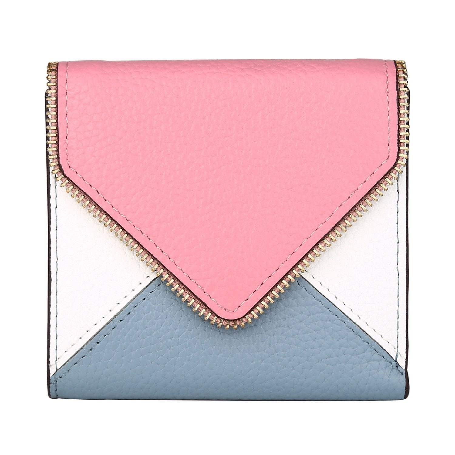 80d3c9e5487 A colorblock leather wallet so you can get a designer look (and designer  quality) without the premium price tag.