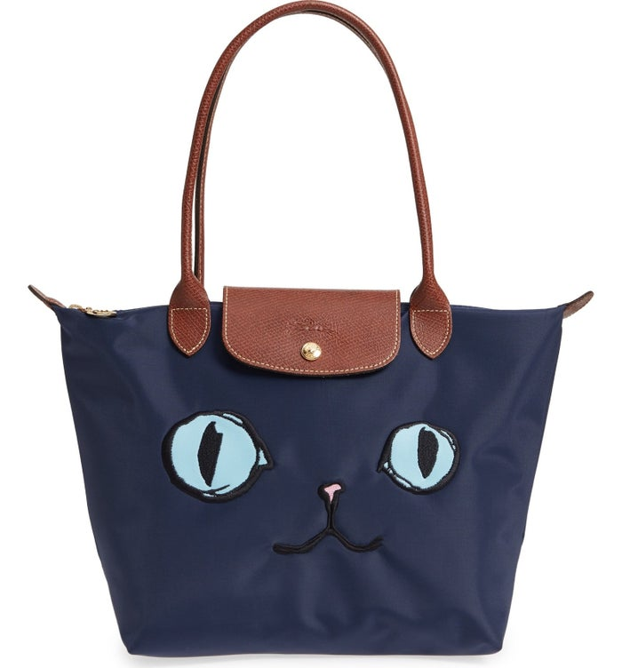 "Promising review: ""Darling! A must for all cat lovers! Subtle but cute. I liked the proportions on this bag better than the larger sized one. Very neutral and versatile."" —GalenaPrice: $155"