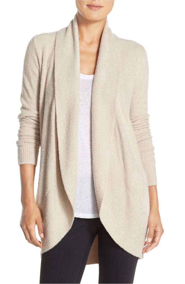 "Promising review: ""Everyone at work could not keep their hands off this lovely, soft, relaxed cardigan. It feels luxurious, and the fact that it's washable makes it worth every penny."" —happyrn54Price: $116 (available in sizes XS–XL)"