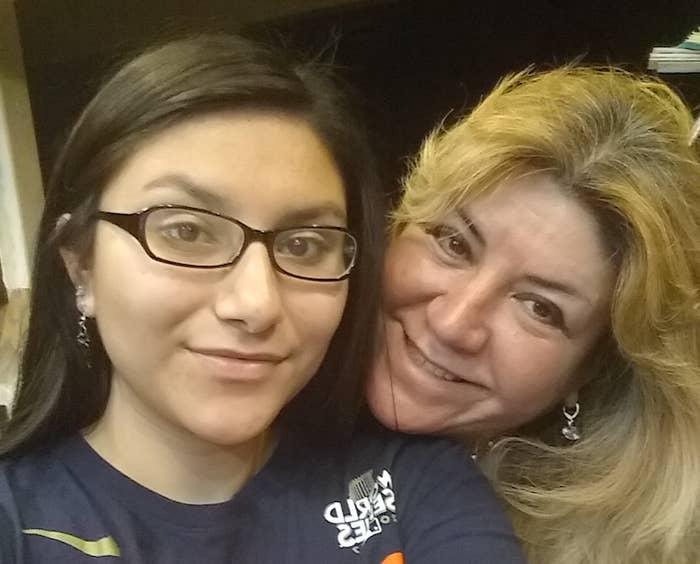 Sarah Salazar (left) and Sonia Lopez