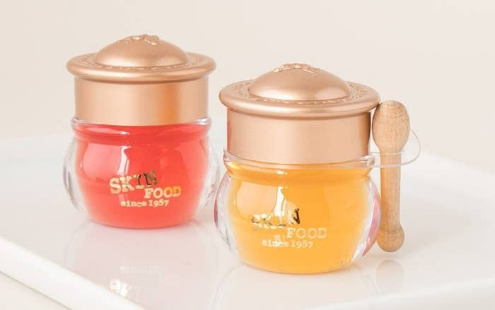 1. Miniature honey pots of lip balm for a perfect Pooh-approved snack.