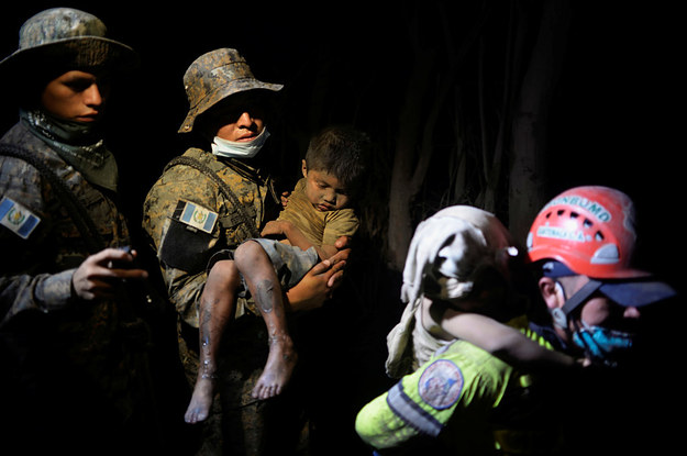 At Least 65 People Have Been Killed In A Powerful Volcano Eruption In Guatemala