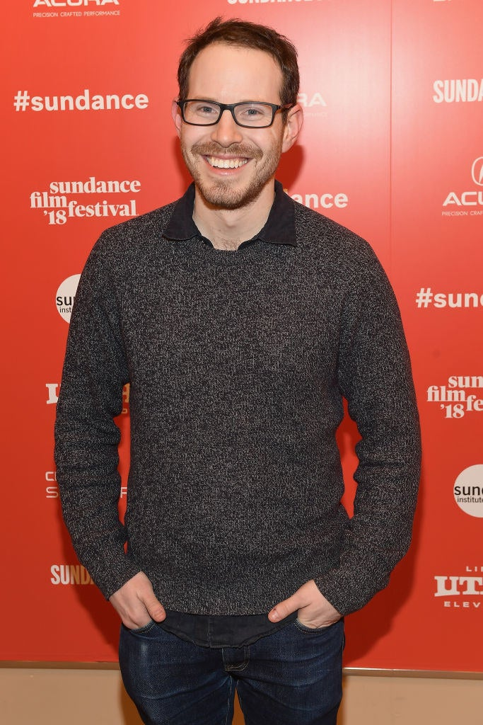 Ari Aster at the Sundance Film Festival premiere of Hereditary.