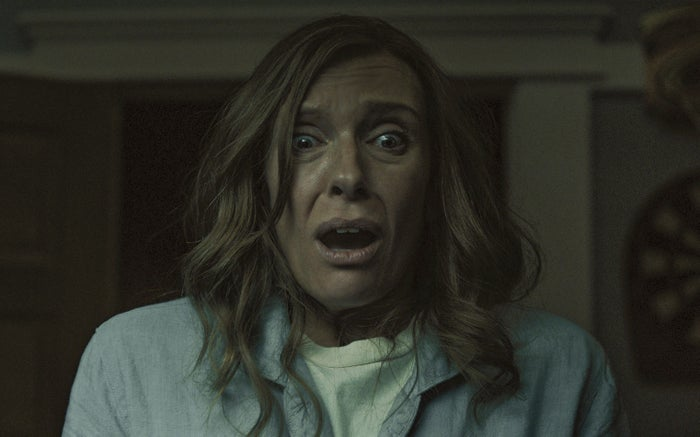 Toni Collette as Annie Graham in Hereditary.