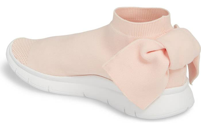 a79f7c2bf2d1d These cute AF Italian knit Joshua Sanders sock sneakers so pretty they put  a bow on them!