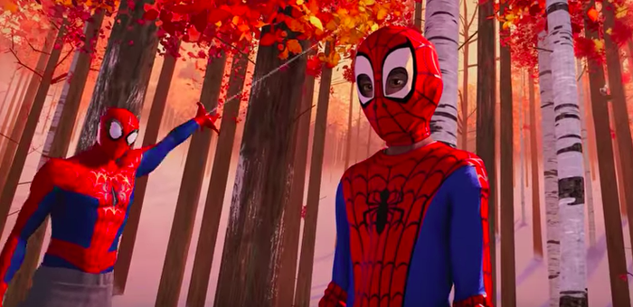 In The Spider-Verse, there's more than just one Spider-Man. Miles is also Marvel's first nonwhite Spider-Man.