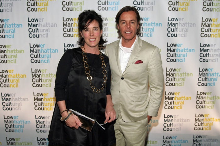 Kate Spade and Andy Spade in 2006.