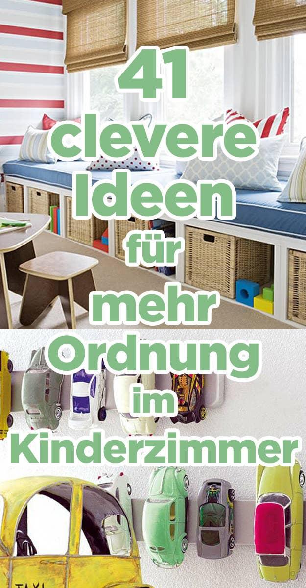 41 clevere und wunderschöne Ideen, um Ordnung ins Kinderzimmer zu ...