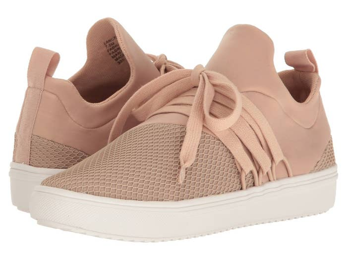 ed5083808eb07 19. And these Steve Madden lace-up sneakers that just might be the smooth  transition you need to take your regular ol  boring sneakers to the next  level.