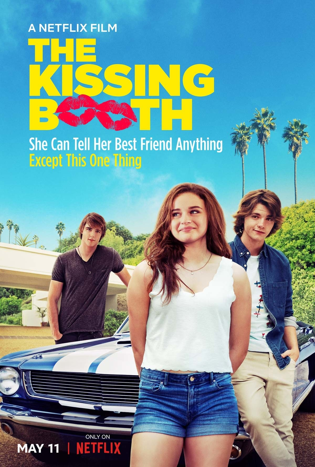 """Here's how Netflix describes the movie: """"When teenager Elle's first kiss leads to a forbidden romance with the hottest boy in high school, she risks her relationship with her best friend."""""""