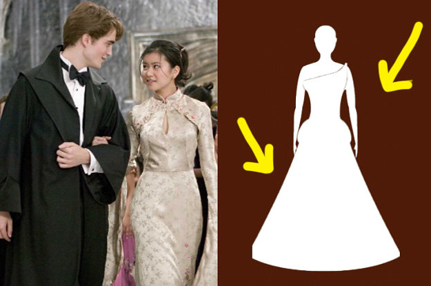 Design A Yule Ball Gown Or Dress Robes And We'll Reveal Who You'll Go With