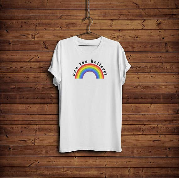 cb0fdf0e00 A can you believe shirt for anyone who is obsessed with Queer Eye and is  just waiting for the day to be adopted by Jonathan the angel of this earth  (me).