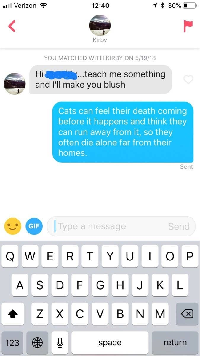 17 Funny Tinder Messages That'll Make You Glad You're Not Single