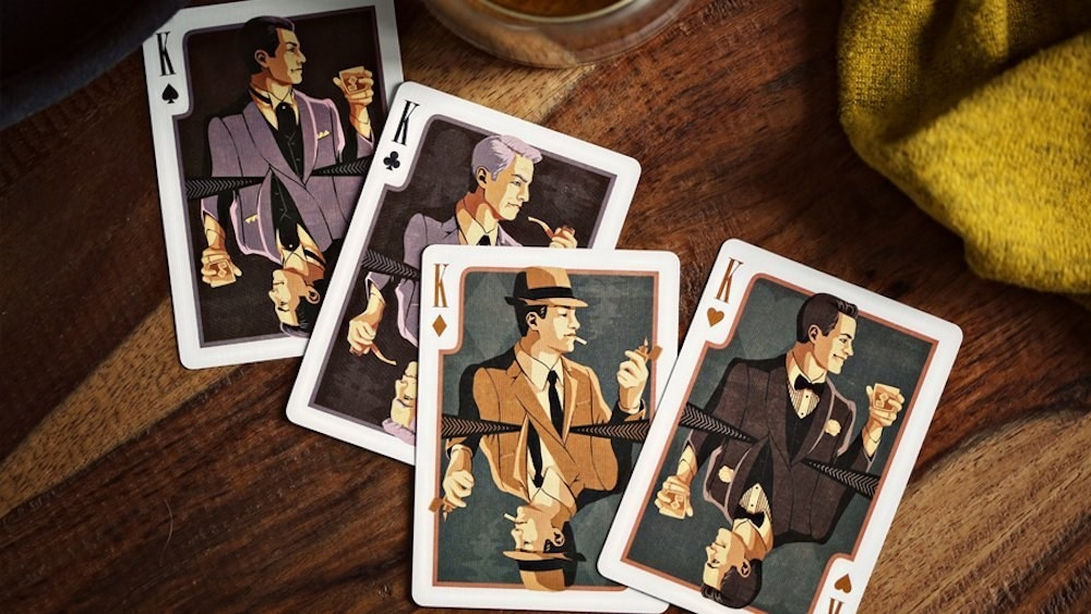 cards with mad men characters