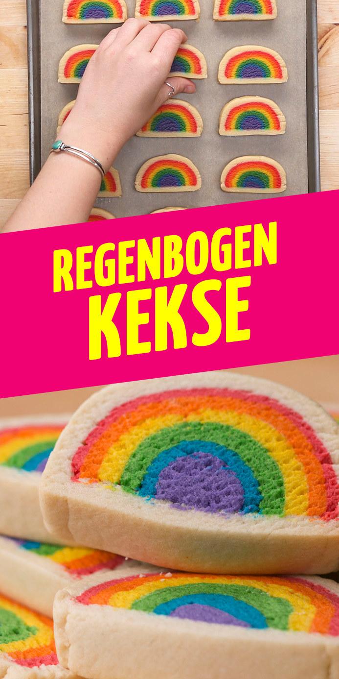 Rezept fur regenbogen kekse