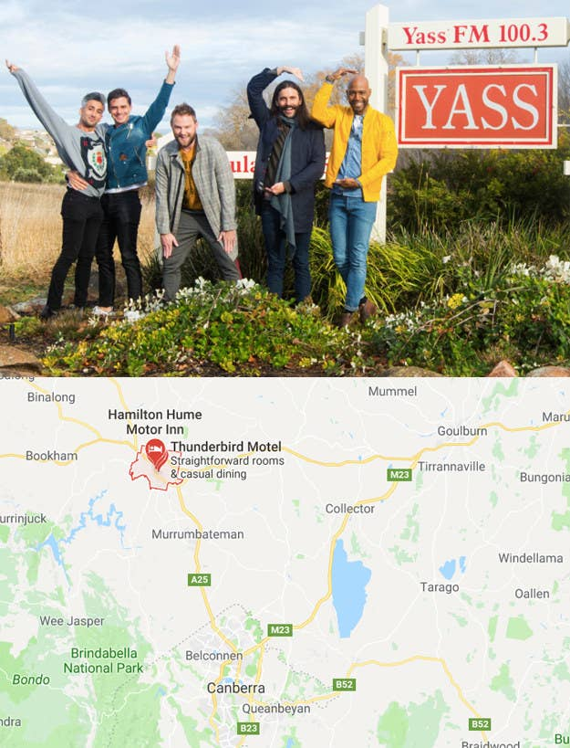 And Yass is not a big place either. It has a population of 6,500, located 51 miles (60 kilometres) north of Australia's capital, Canberra.