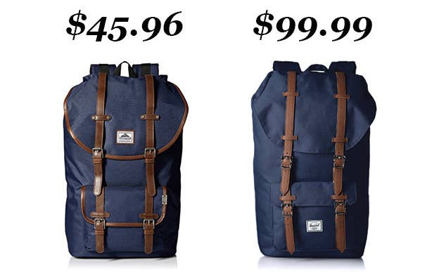 5930b26135fe  quot The classic Herschel backpacks are so expensive! Steve Madden makes  ones that look