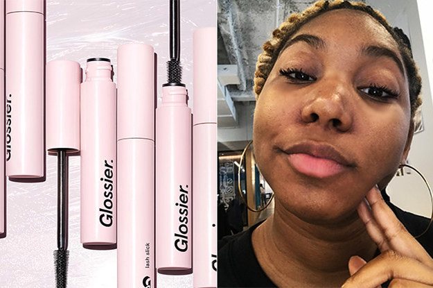 3e2c5785654 Glossier's Lash Slick Stayed On Even When I Forgot To Wash My Makeup Off  And I'm Shook